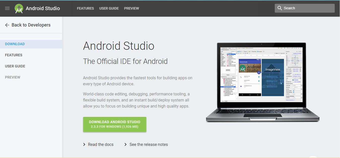 How to Create an Android App with Android Studio?