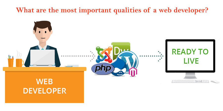 What are the most important qualities of a web developer?